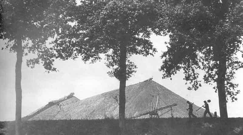 Raad Heerlen stemt voor behoud mijnsteenberg