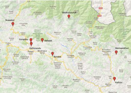 Kaart projecten