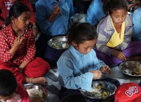 Chaula Narayan School Thali