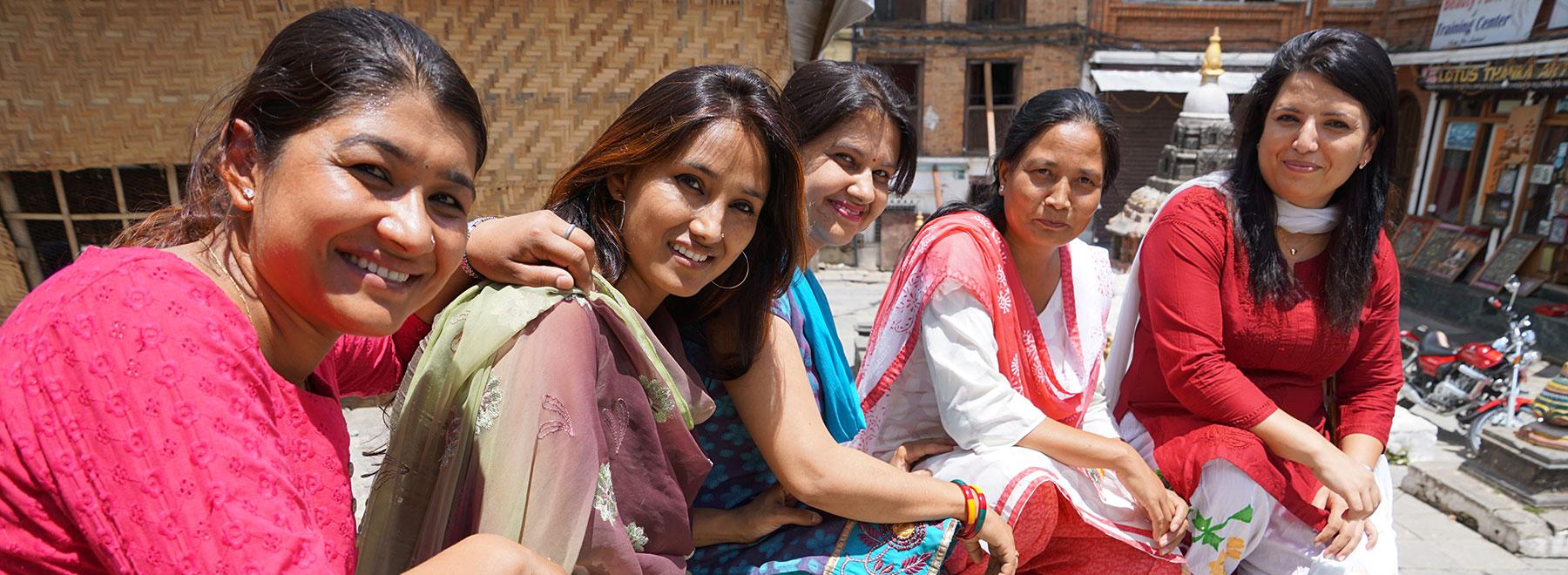 Onze collega's in Nepal