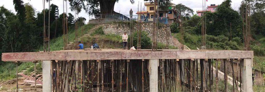 Constructie nieuwe school Thali loopt gestaag